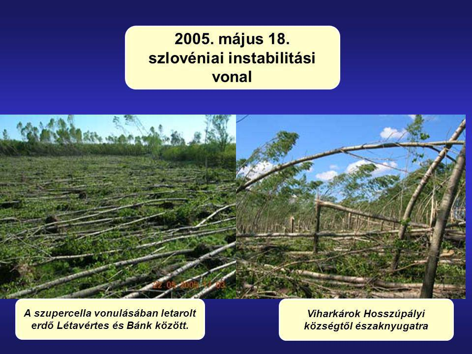 2005. május 18. szlovéniai instabilitási vonal