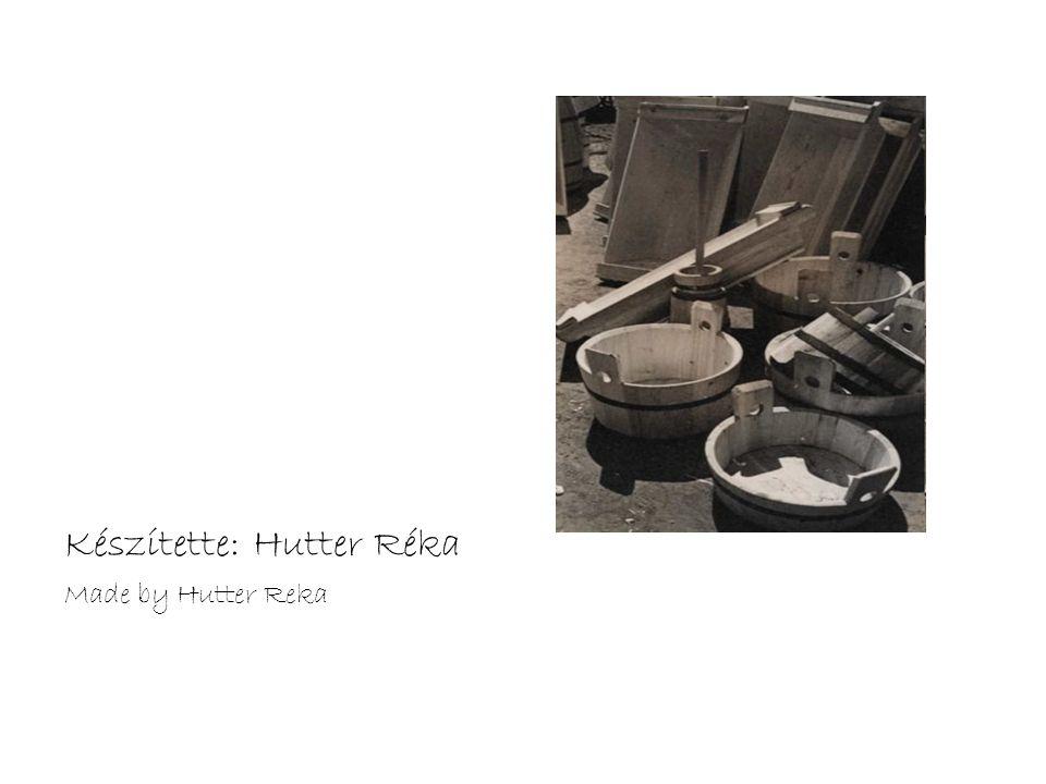 Készítette: Hutter Réka