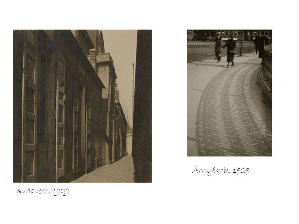 Shadows, 1929 Árnyékok, 1929 Budapest, 1929