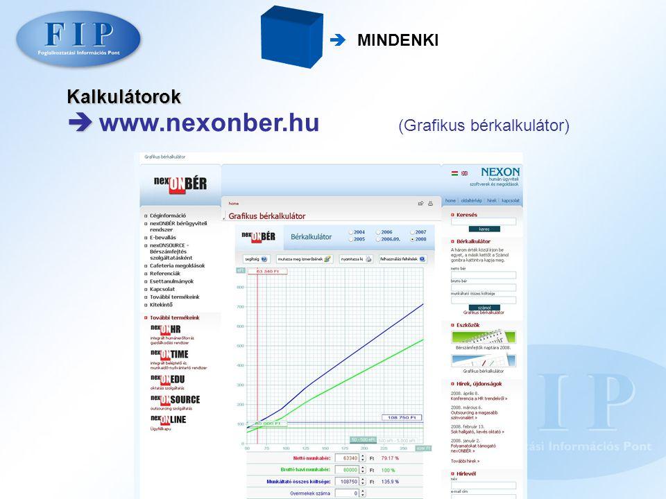  www.nexonber.hu (Grafikus bérkalkulátor)