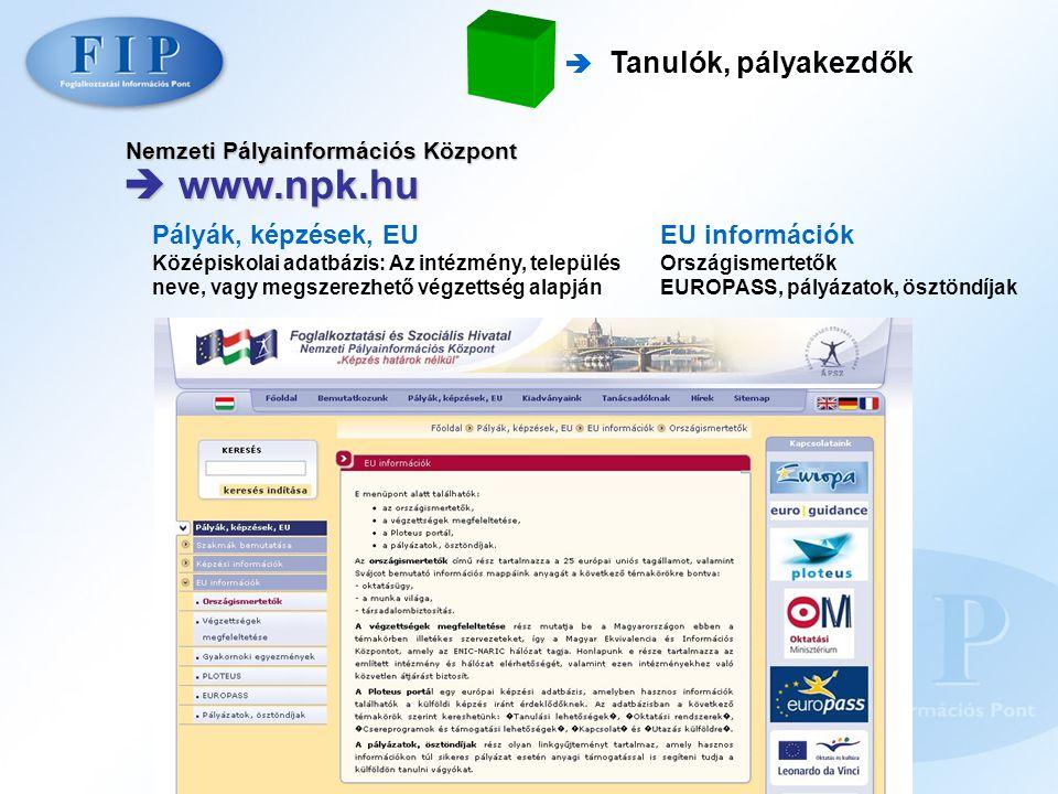 Nemzeti Pályainformációs Központ