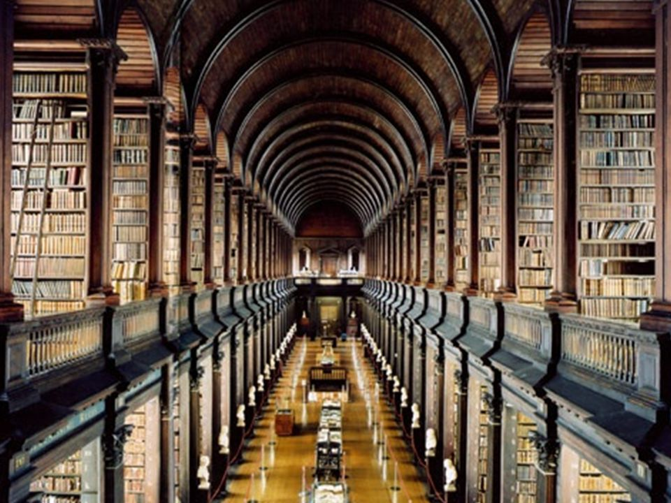 Dublin, Trinity College Library – Candida Höfer, Umberto Eco