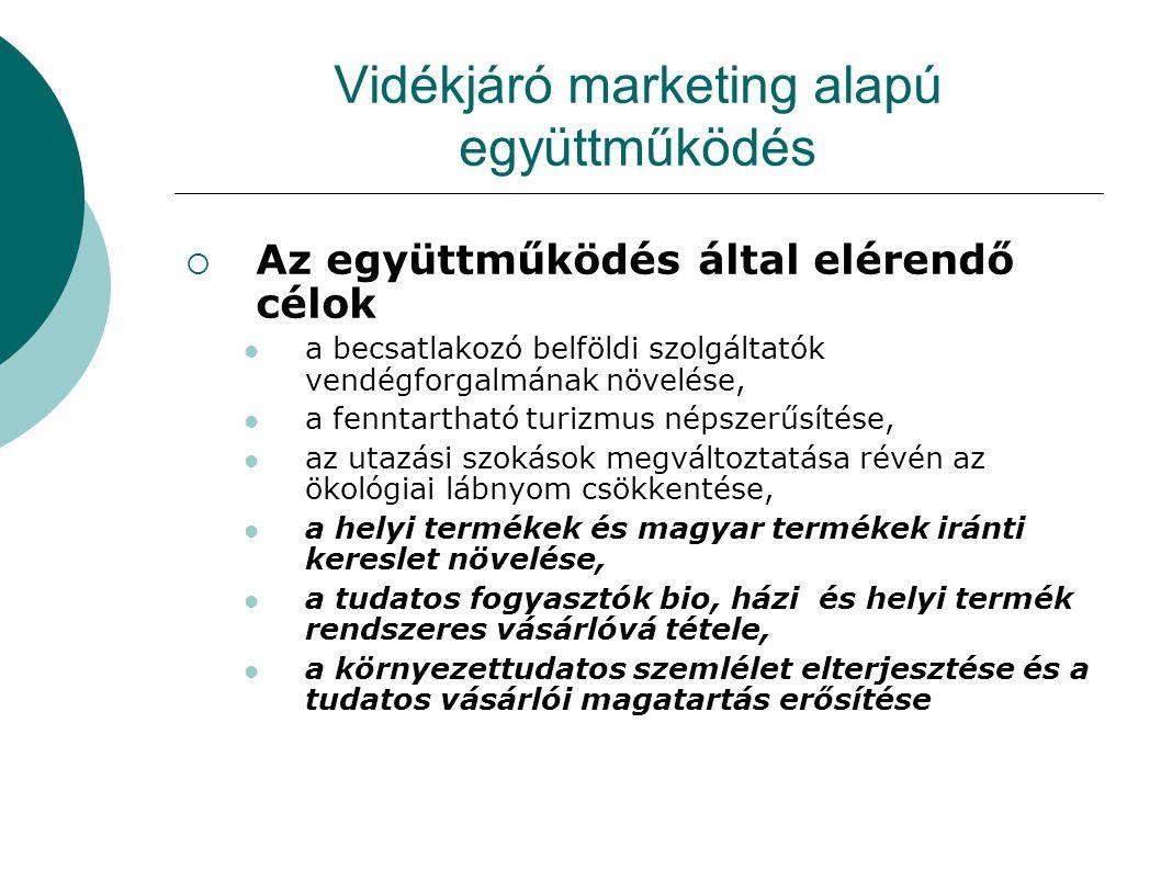 Vidékjáró marketing alapú együttműködés