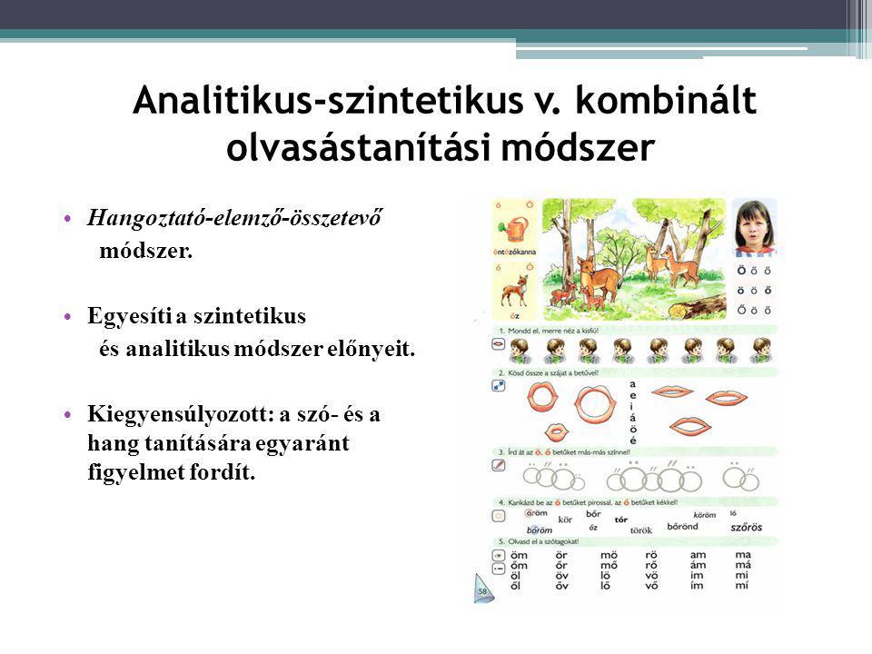 Analitikus-szintetikus v. kombinált olvasástanítási módszer