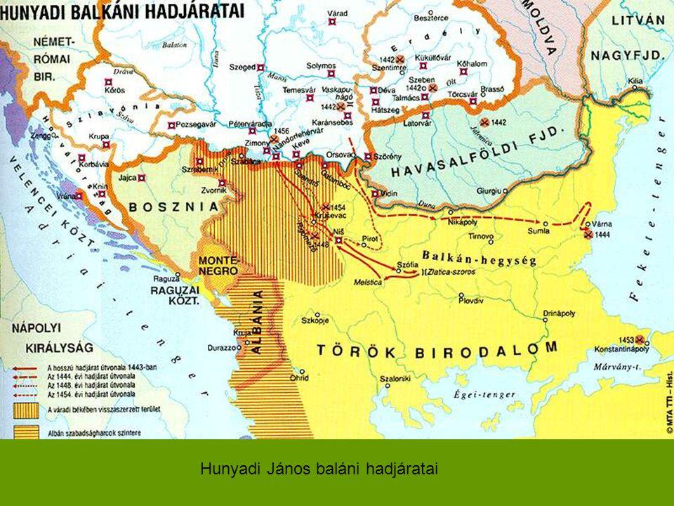 Hunyadi János baláni hadjáratai