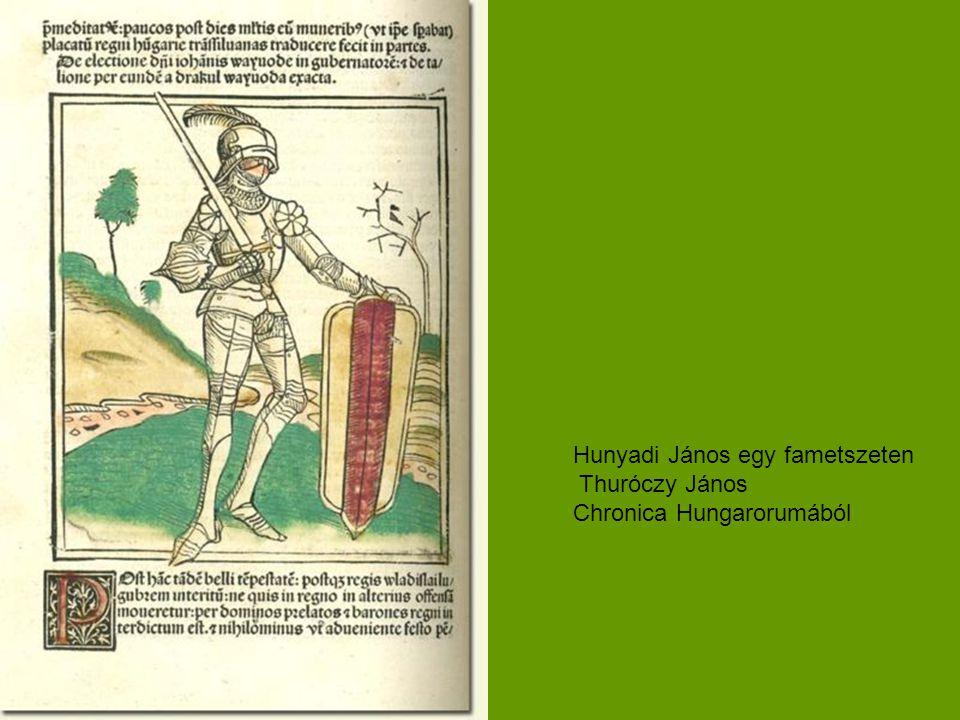 Hunyadi János egy fametszeten