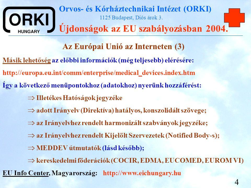 Az Európai Unió az Interneten (3)