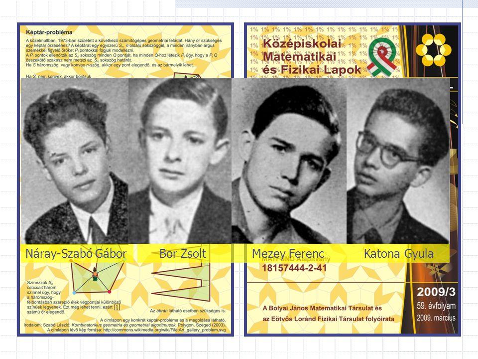 Náray-Szabó Gábor Bor Zsolt Mezey Ferenc Katona Gyula