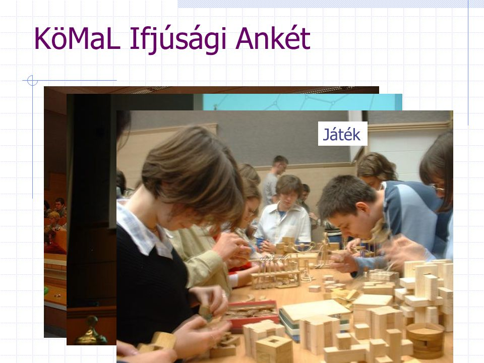 KöMaL Ifjúsági Ankét Díjkiosztó ünnepség Előadások Játék