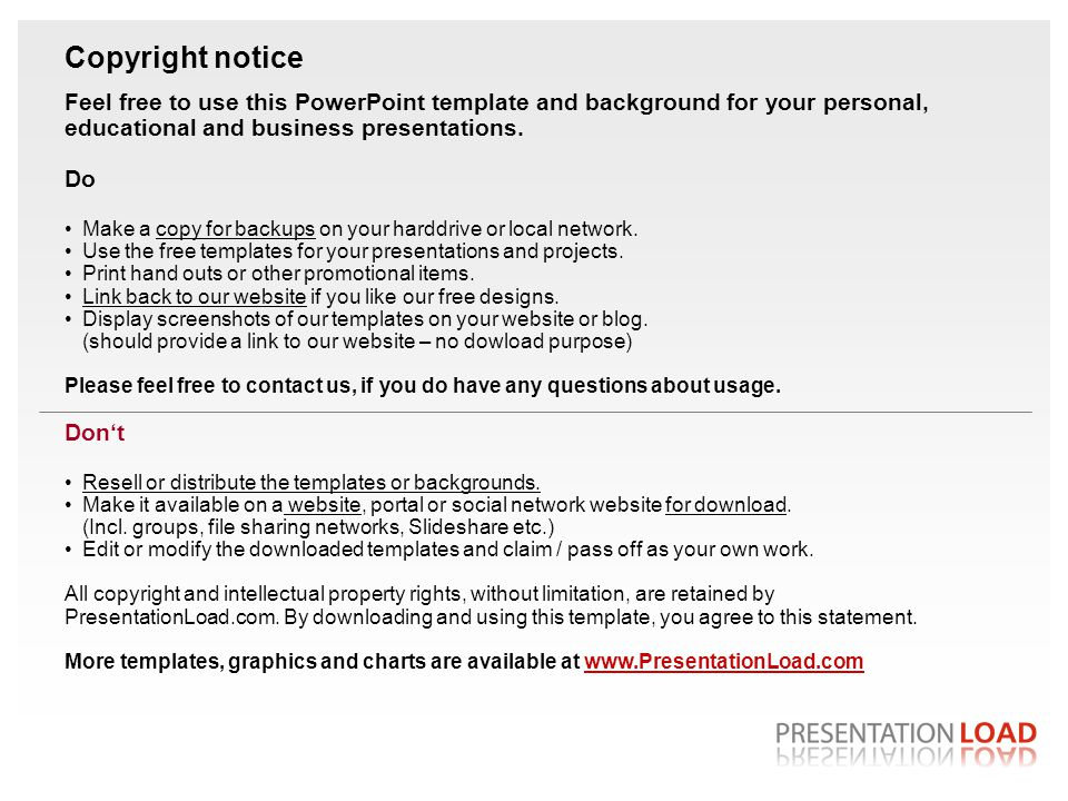 Copyright notice Feel free to use this PowerPoint template and background for your personal, educational and business presentations.