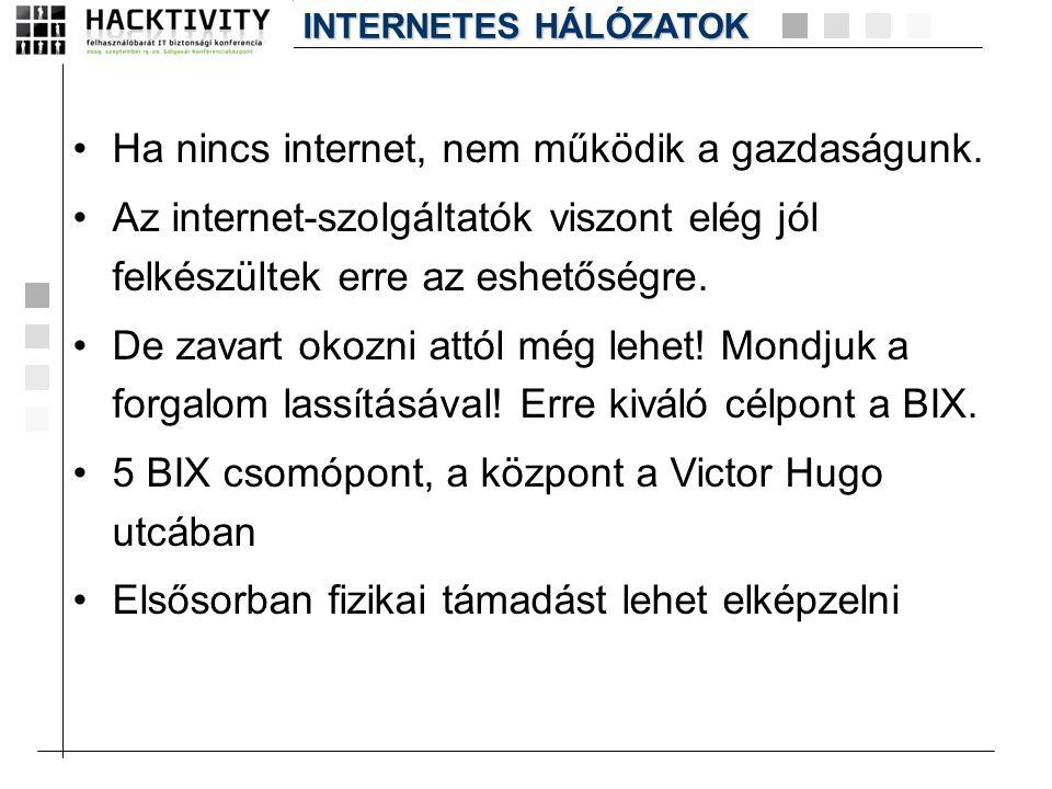 Ha nincs internet, nem működik a gazdaságunk.