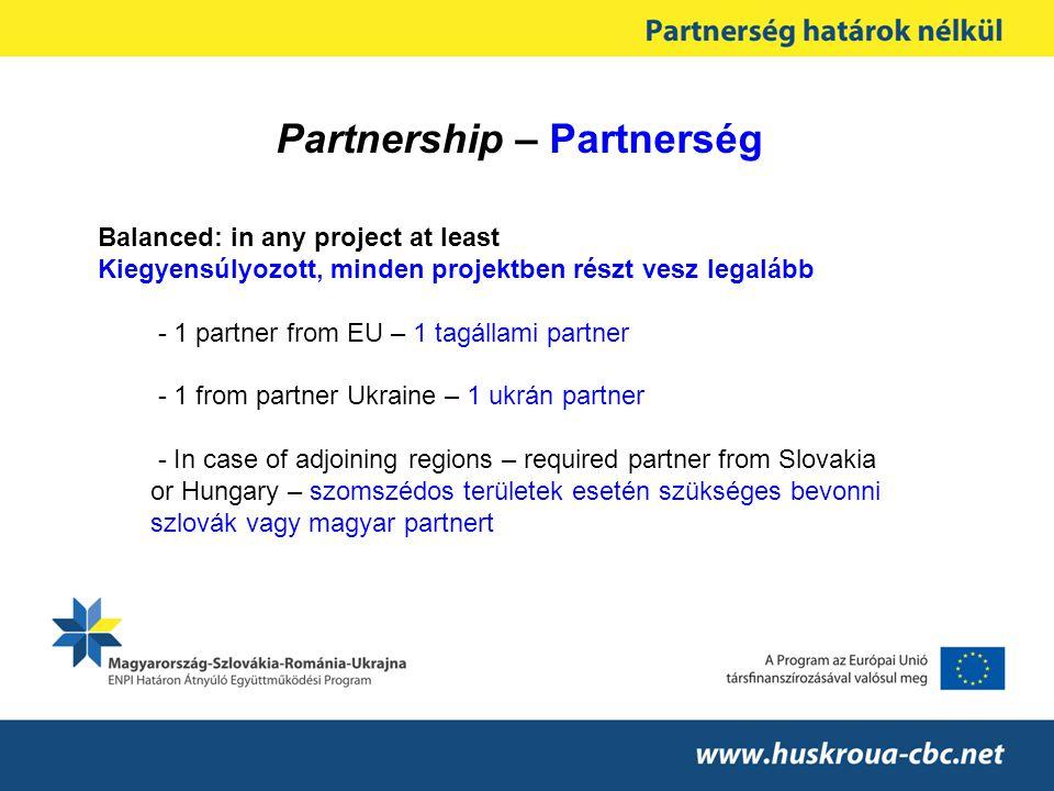 Partnership – Partnerség