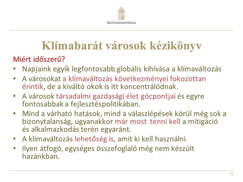 Klímabarát városok kézikönyv