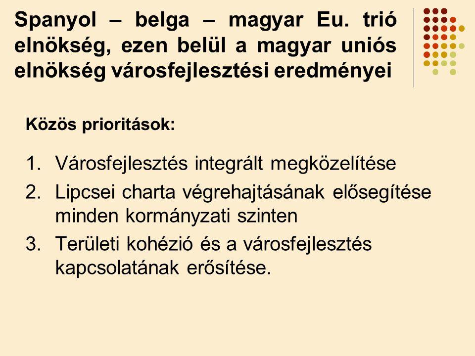 Spanyol – belga – magyar Eu