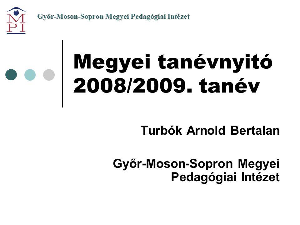 Megyei tanévnyitó 2008/2009. tanév