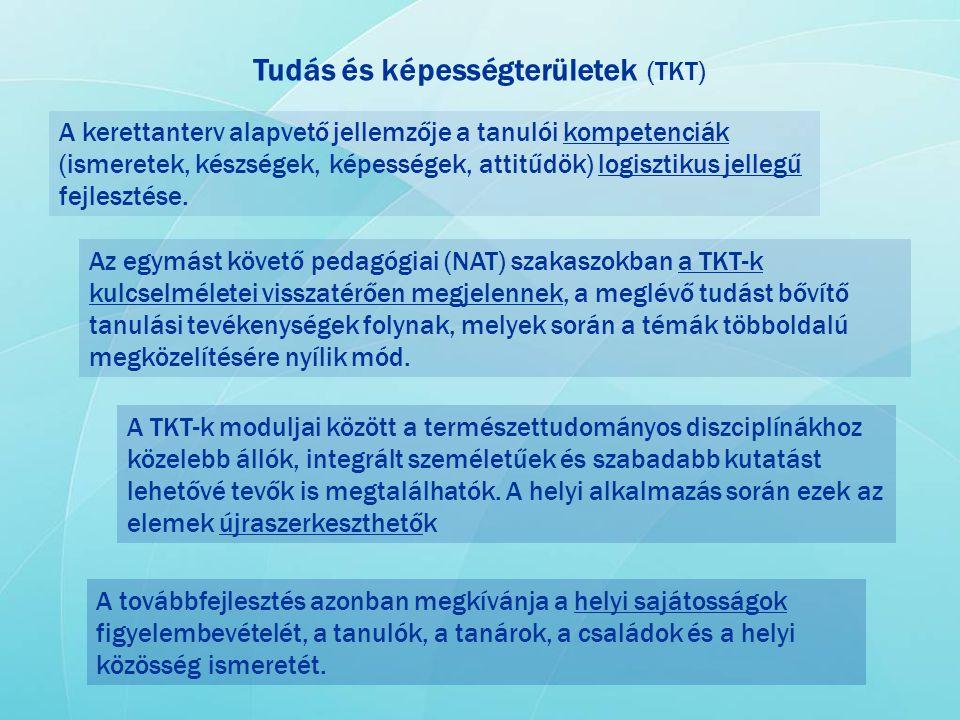 Tudás és képességterületek (TKT)
