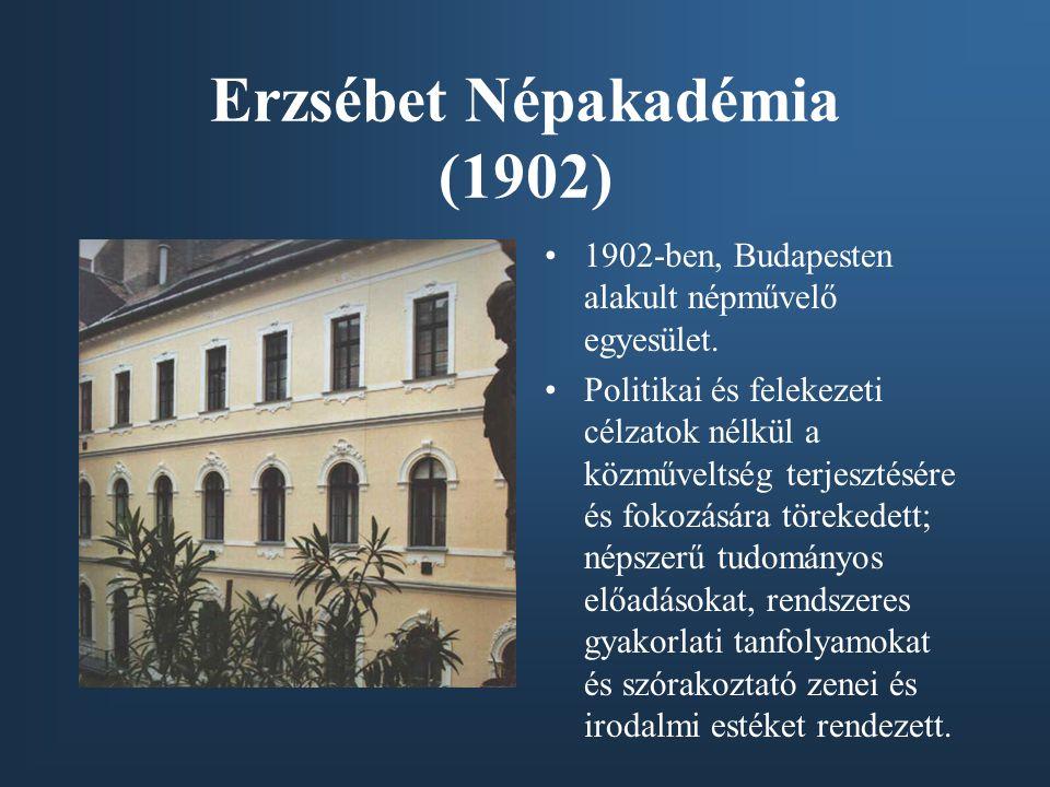 Erzsébet Népakadémia (1902)