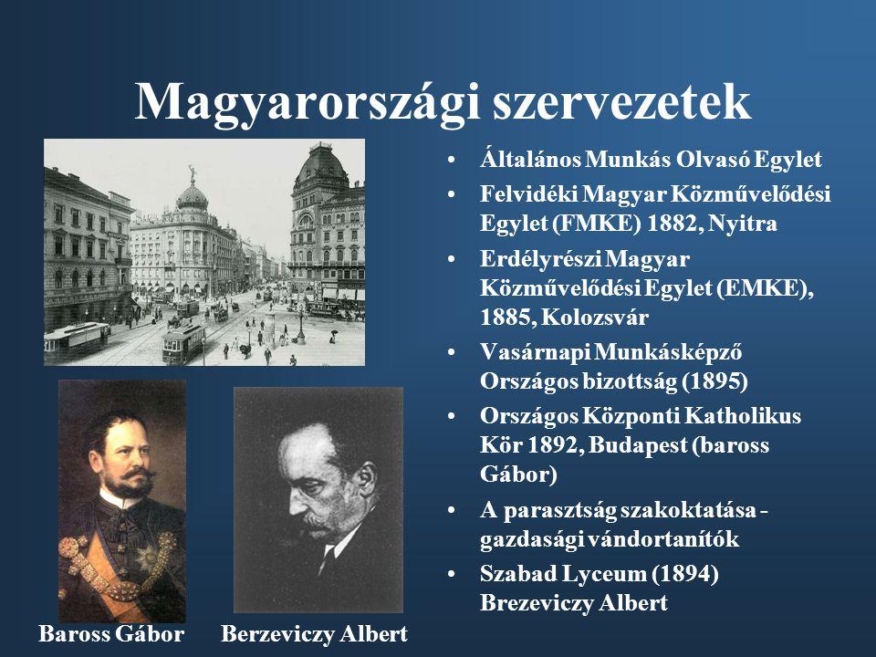 Magyarországi szervezetek