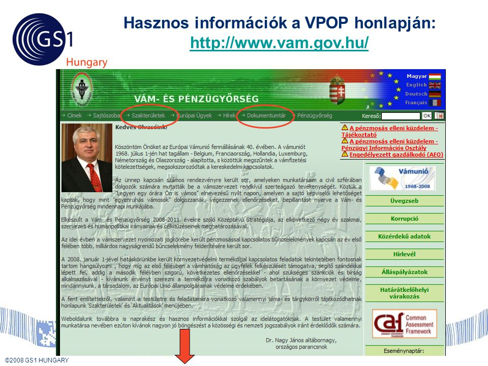 Hasznos információk a VPOP honlapján: