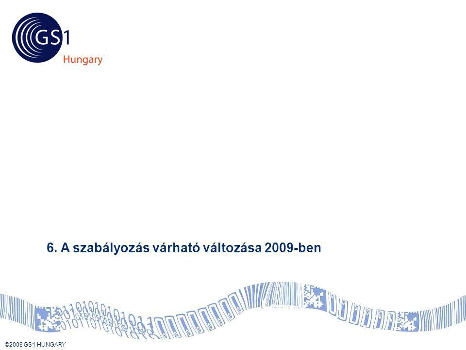 Tartalom 6. A szabályozás várható változása 2009-ben
