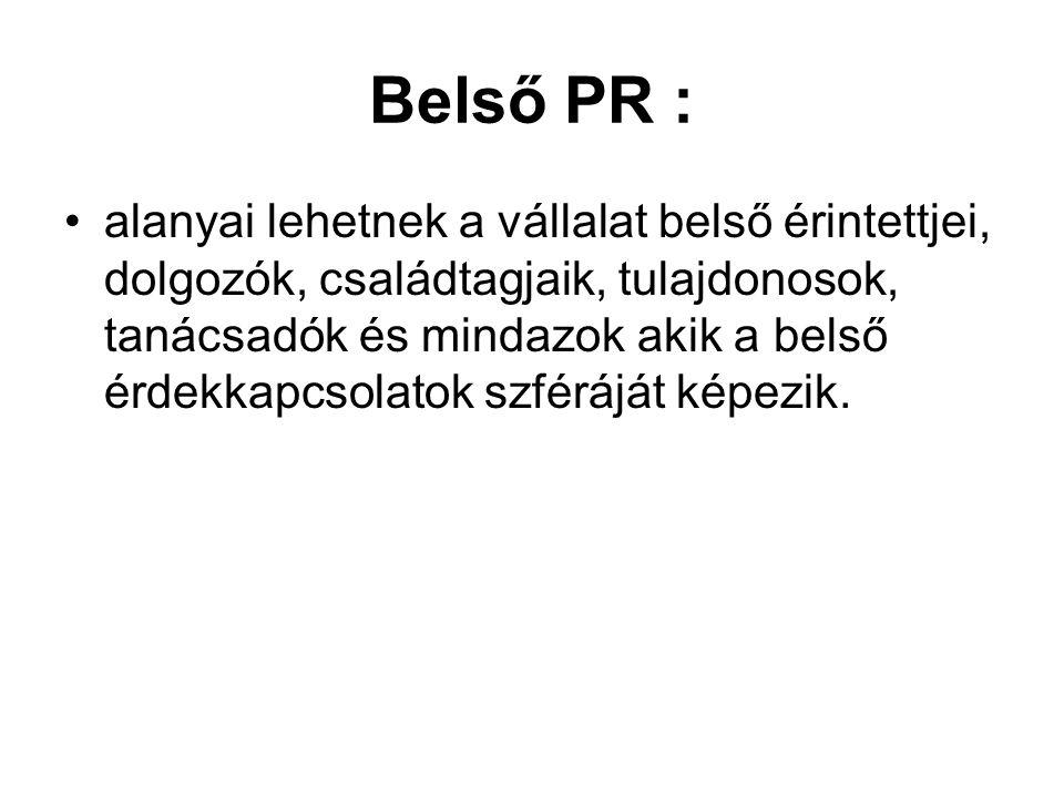 Belső PR :