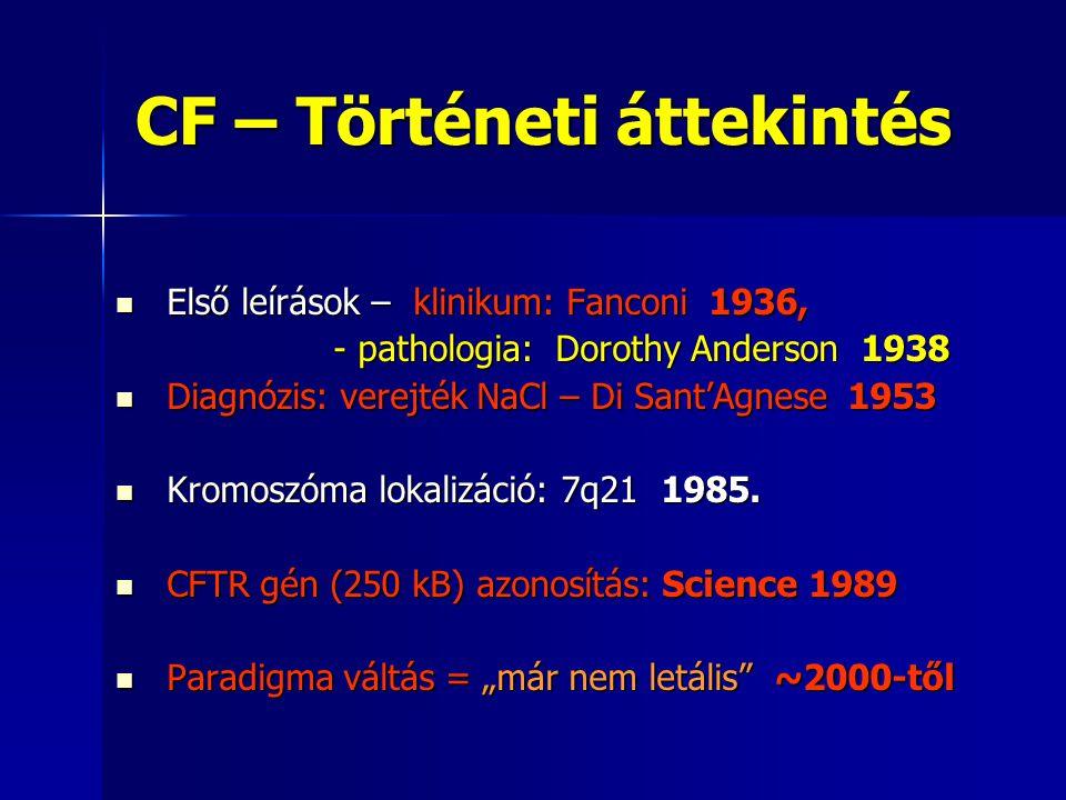 CF – Történeti áttekintés