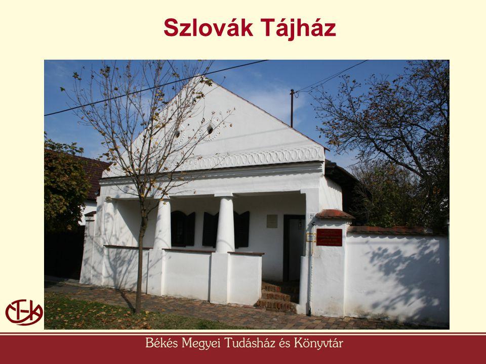 Szlovák Tájház