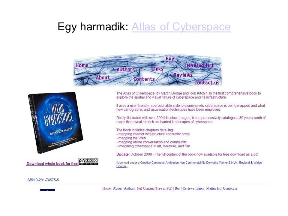 Egy harmadik: Atlas of Cyberspace