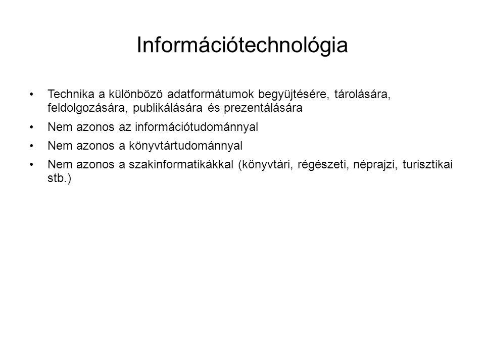 Információtechnológia