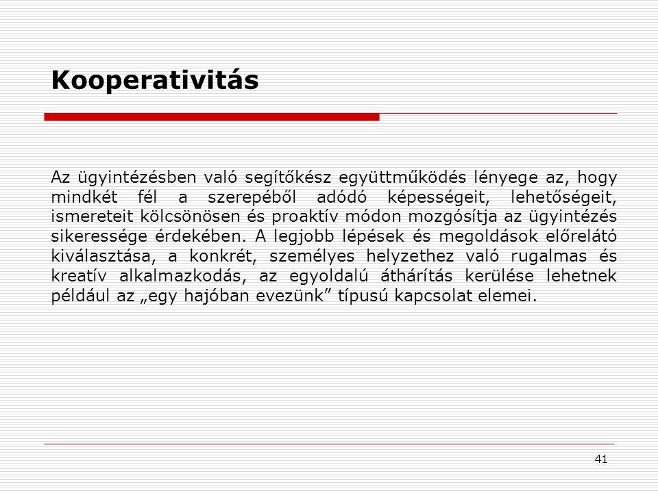 Kooperativitás