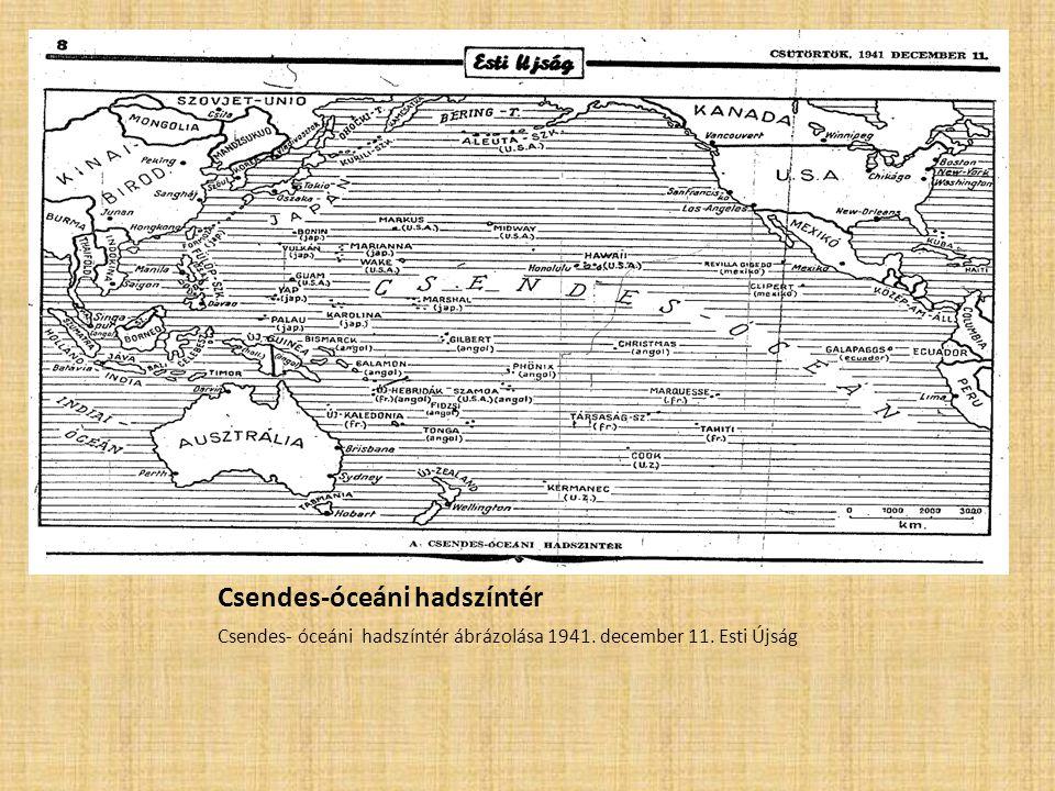 Csendes-óceáni hadszíntér