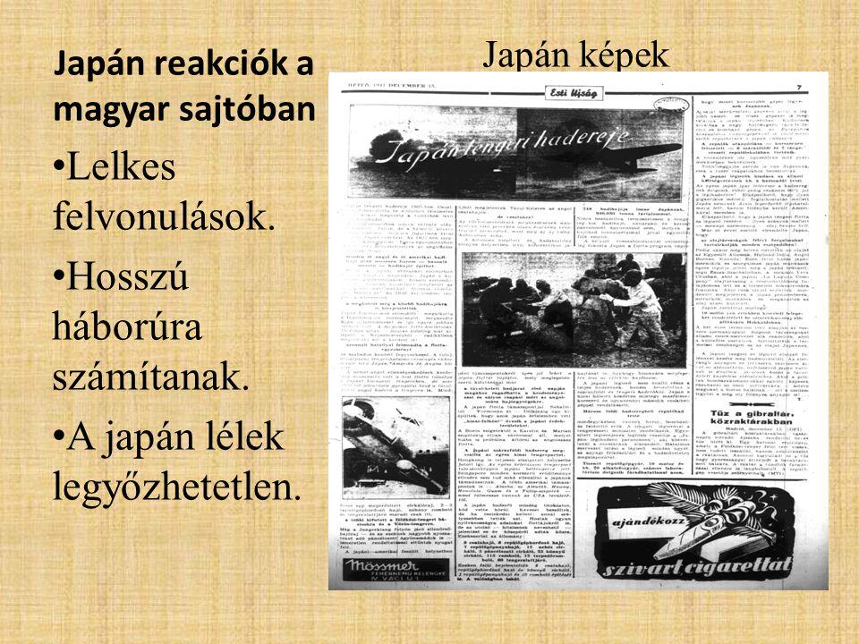 Japán reakciók a magyar sajtóban