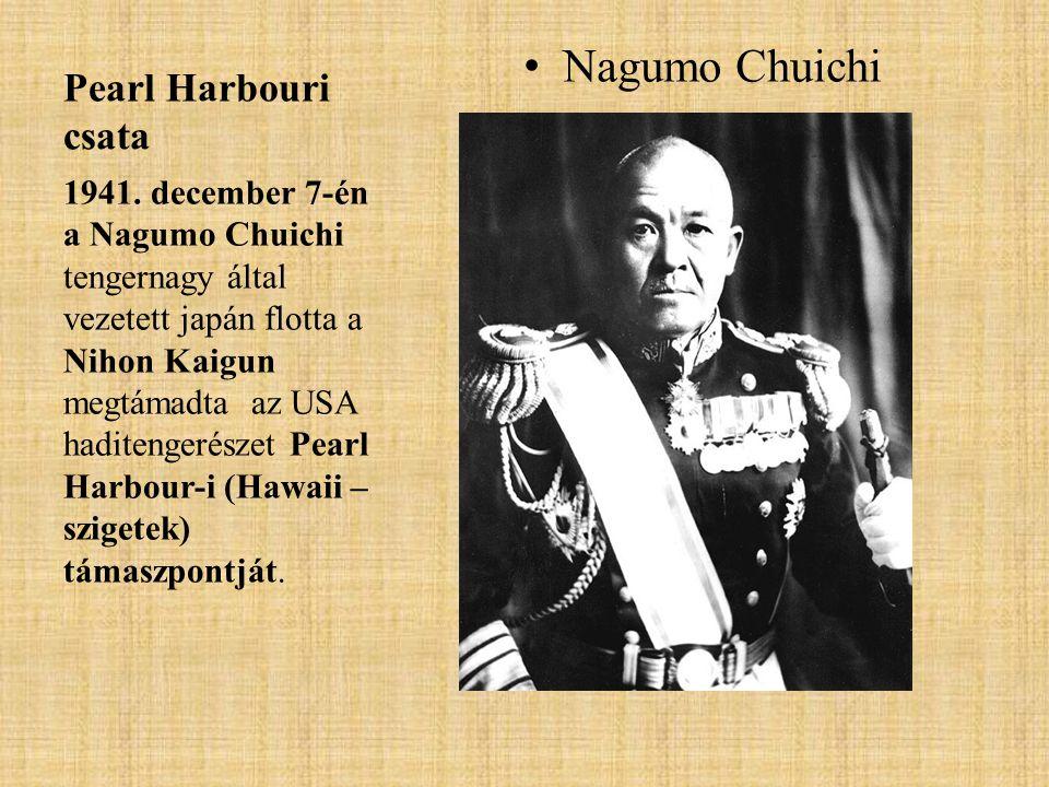 Nagumo Chuichi Pearl Harbouri csata