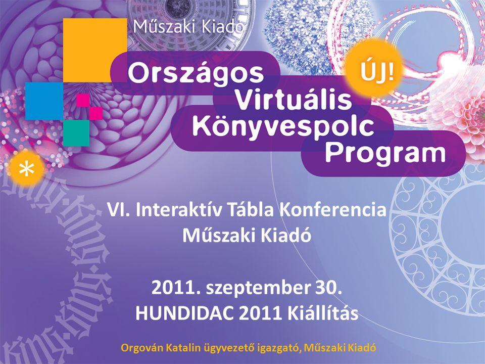 VI. Interaktív Tábla Konferencia
