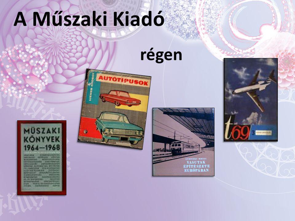 A Műszaki Kiadó régen
