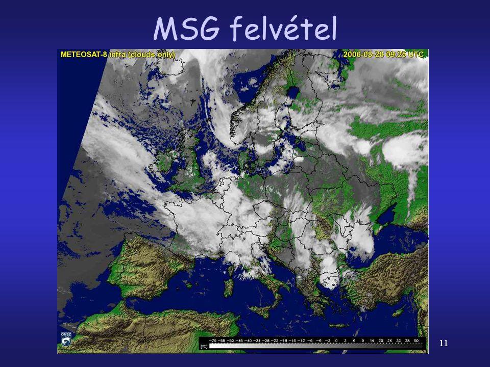 MSG felvétel