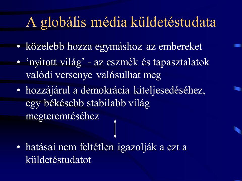 A globális média küldetéstudata