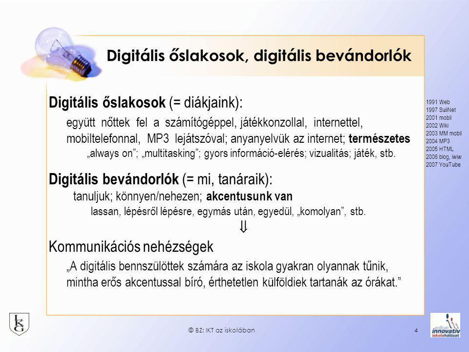 Digitális őslakosok, digitális bevándorlók