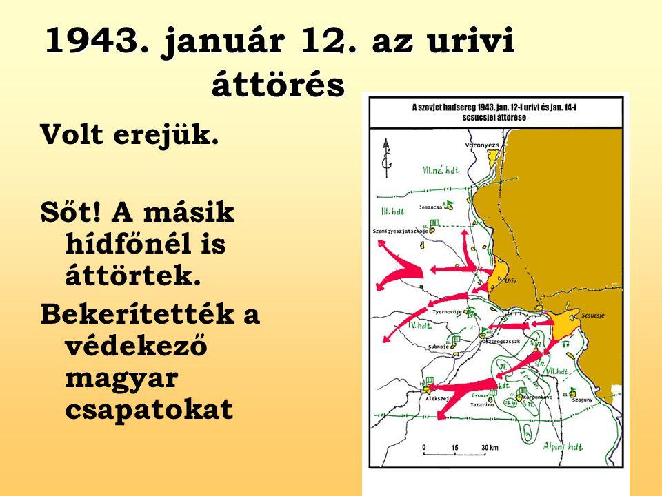 1943. január 12. az urivi áttörés