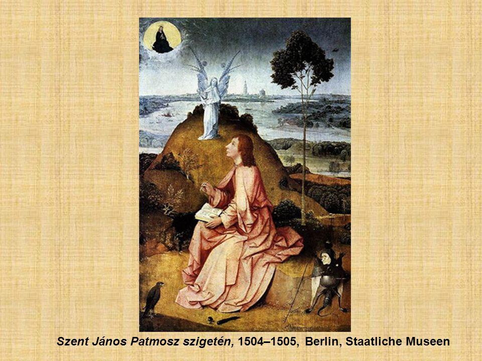 Szent János Patmosz szigetén, 1504–1505, Berlin, Staatliche Museen