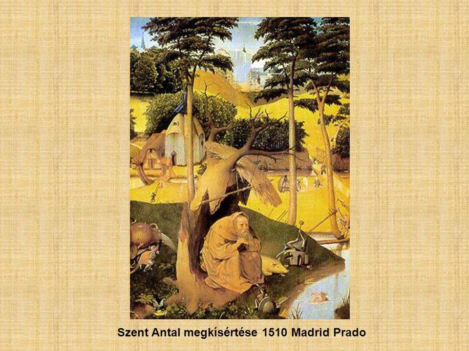 Szent Antal megkísértése 1510 Madrid Prado