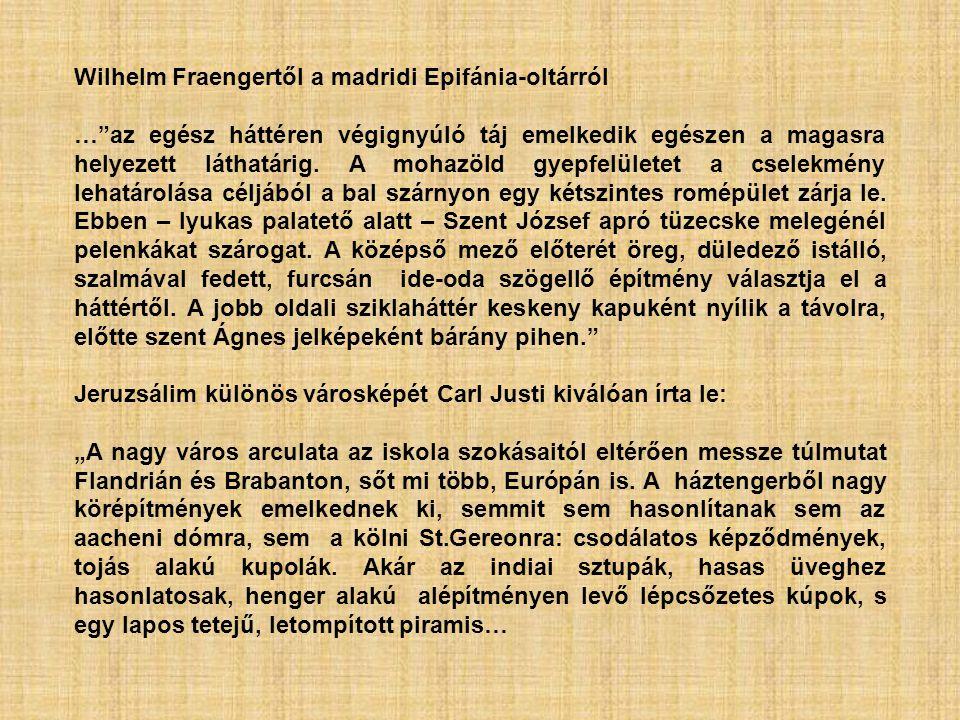 Wilhelm Fraengertől a madridi Epifánia-oltárról