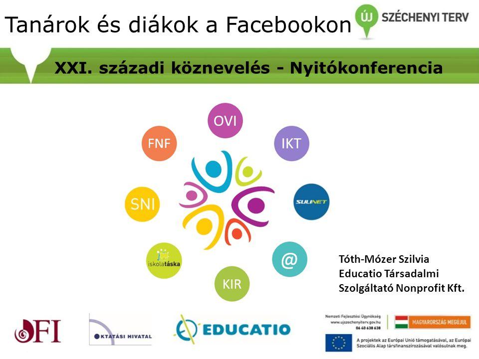 Tanárok és diákok a Facebookon