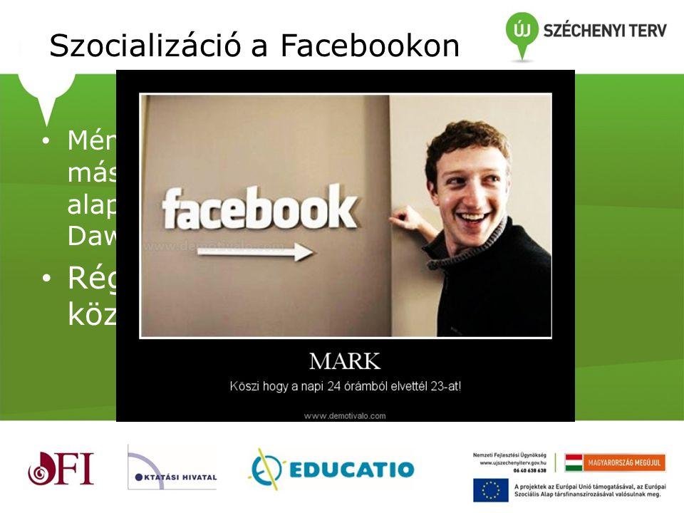 Szocializáció a Facebookon