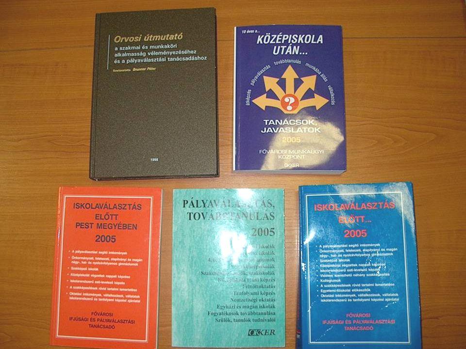 Foglalkozási Információs Tanácsadó (FIT) szolgáltatásai
