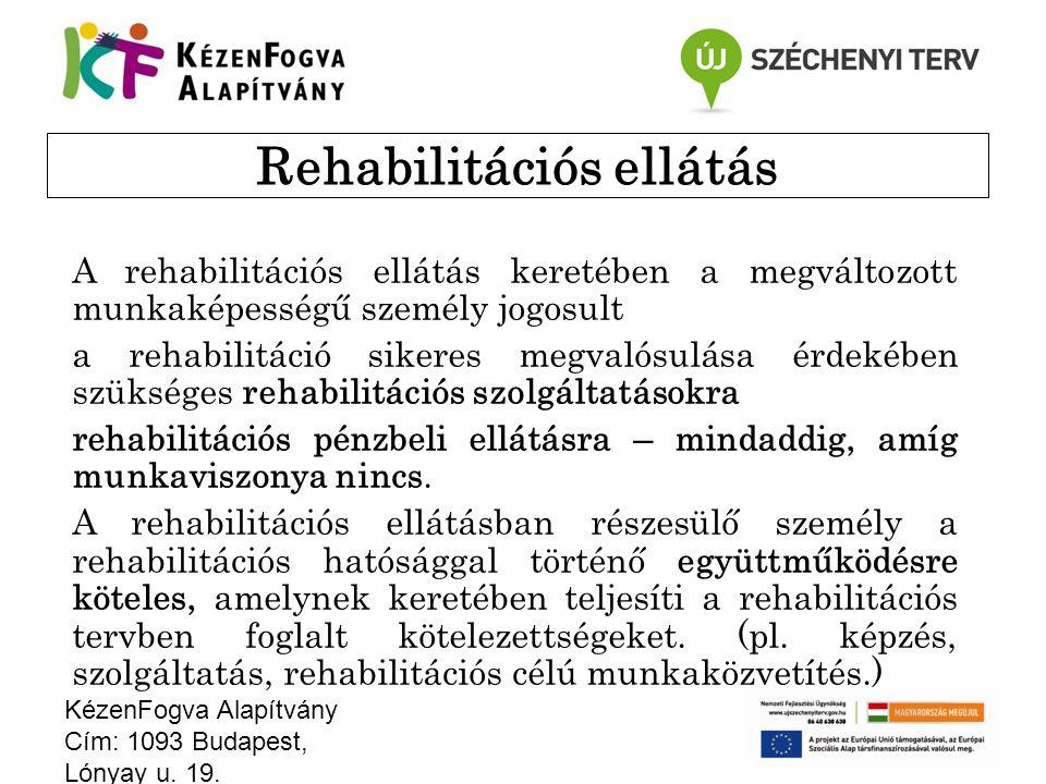 Rehabilitációs ellátás