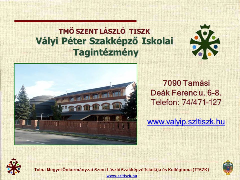 Perczel Mór Szakközépiskolai Tagintézmény