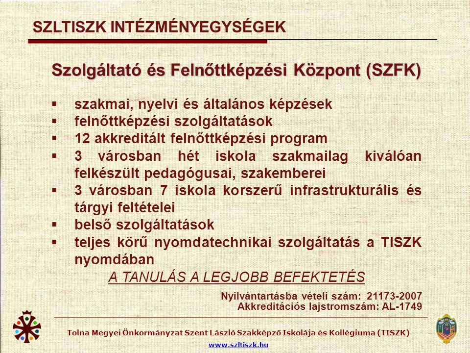 SZENT LÁSZLÓ TISZK KOLLÉGIUMOK