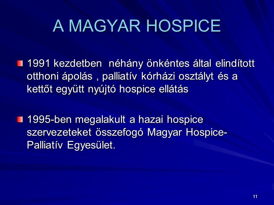 A MAGYAR HOSPICE