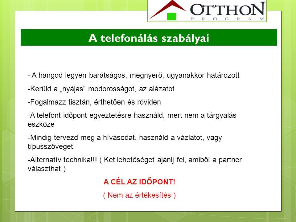 A telefonálás szabályai